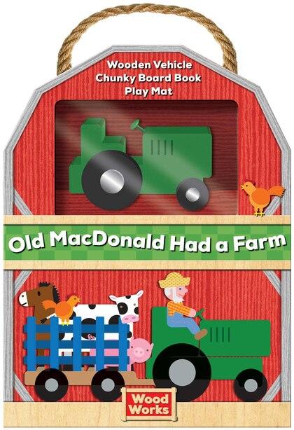 Woodworks Nursery Rhymes: Old Macdonald Had A Farm by Elliot Kreloff