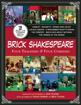 Book Brick Shakespeare: Four Tragedies & Four Comedies by John McCann