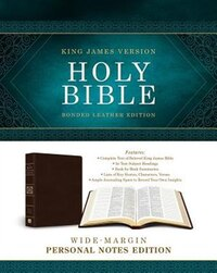 Holy Bible: Wide-margin Personal Notes Edition: King James Version (bonded Leather)