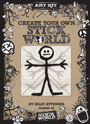 Create Your Own Stick World Kit: Includes Technique Book, Pens,  And 80 Page Drawing Journal! by Billy Attinger