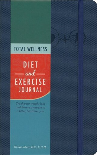 total wellness diet and exercise journal track your weight loss and