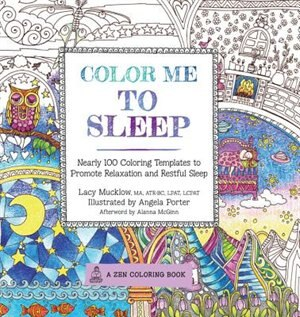 Indigo Books Root Color Me To Sleep Nearly 100 Coloring Templates Promote Relaxation And Restful By