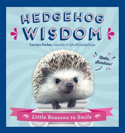 Hedgehog Wisdom: Little Reasons To Smile by Carolyn Parker