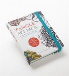 Tangle Art Pack: A Meditative Drawing Book And Sketchpad - Adapted From The Best-selling Book One…
