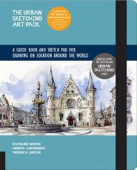 Urban Sketching Art Pack: Exercise Book And Sketch Pad For Drawing On Location Around The World…