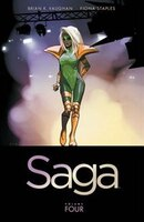 Book Saga Volume 4 by Brian K Vaughan