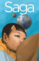 Book Saga Deluxe Edition Volume 1 by Brian K Vaughan