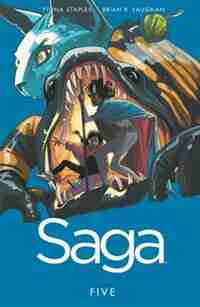 Saga Volume 5 by Brian K Vaughan