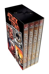 Attack On Titan: The Beginning Box Set