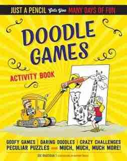Doodle Games Activity Book by Joe Rhatigan
