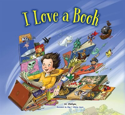 I Love A Book by Joe Rhatigan