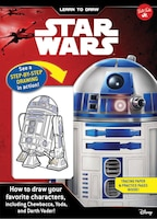 Learn To Draw Star Wars: How To Draw Your Favorite Characters, Including Chewbacca, Yoda, And Darth…