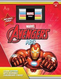 Marvel's Avengers Chalkboard Abc: Learn The Alphabet With Reusable Chalkboard Pages!