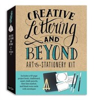 Creative Lettering And Beyond Art & Stationery Kit: Includes A 40-page Project Book, Chalkboard…