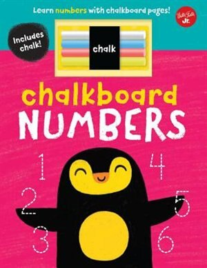 Chalkboard Numbers: Learn Numbers With Chalkboard Pages! by Stephen Barker