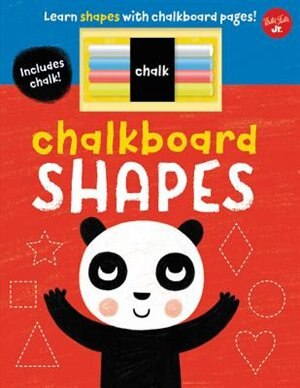 Chalkboard Shapes: Learn Shapes With Chalkboard Pages! by Stephen Barker