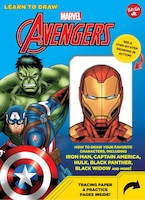 Learn To Draw Marvel Avengers: How To Draw Your Favorite Characters, Including Iron Man, Captain…