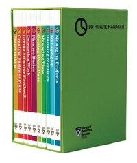 HBR 20-Minute Manager Boxed Set (10 Books) (HBR 20-Minute Manager Series)
