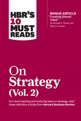 """Hbr's 10 Must Reads On Strategy, Vol. 2 (with Bonus Article """"creating Shared Value"""" By Michael E…"""