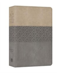 The Kjv Cross Reference Study Bible (gray)