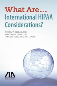 What Are...international Hipaa Considerations?