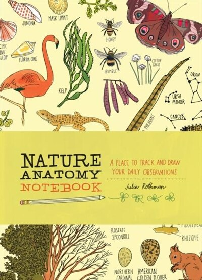 Nature Anatomy Notebook: A Place To Track And Draw Your Daily Observations by Julia Rothman