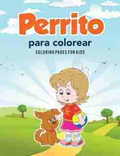Perrito para colorear by Coloring Pages for Kids