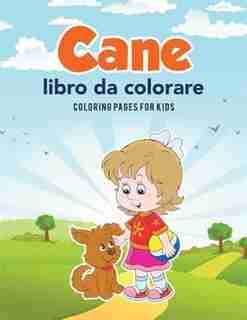 Cane libro da colorare by Coloring Pages for Kids