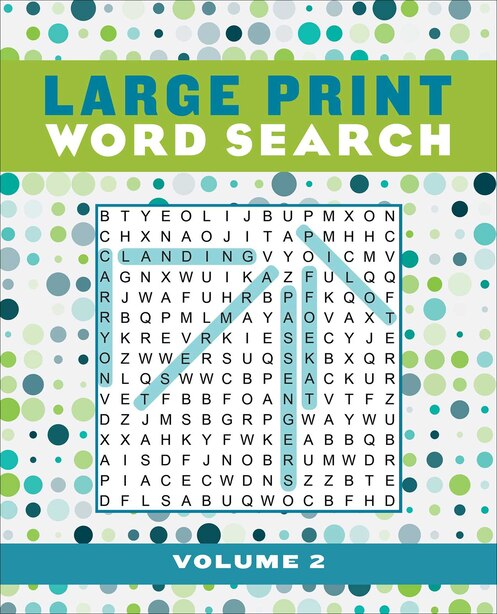 Large Print Word Search Volume 2 by Editors Of Thunder Bay Press
