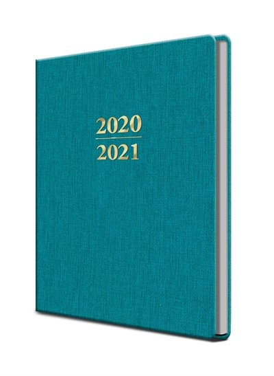 2021 Large Teal Planner by Editors Of Thunder Bay Press