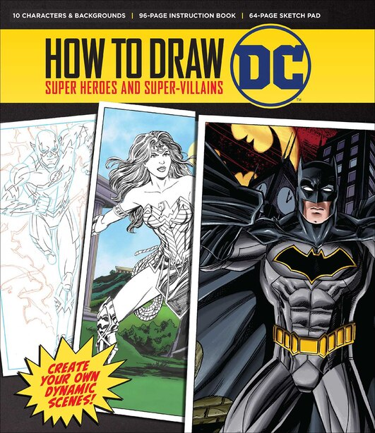How To Draw: Dc by Editors Of Thunder Bay Press