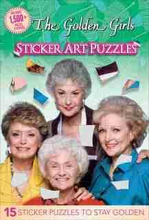 Golden Girls Sticker Art Puzzles by Arie Kaplan