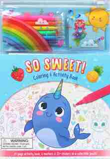 So Sweet Pencil Pouch by Courtney Acampora
