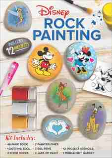 Disney Rock Painting by Editors Of Thunder Bay Press