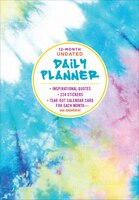12-Month Undated Daily Planner