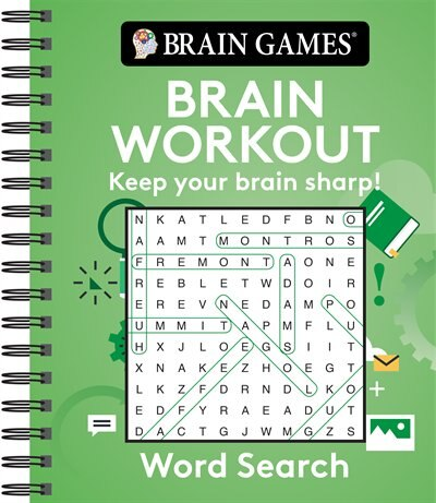 WORD SEARCH BRAIN WORKOUT by Games Brain