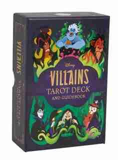 Disney Villains Tarot Deck and Guidebook | Movie Tarot Deck | Pop Culture Tarot de Minerva Siegel