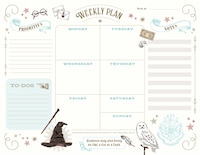 Harry Potter: Weekly Planner Notepad: (harry Potter School Planner, Harry Potter Gift, Harry Potter…