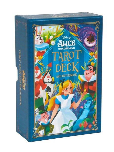 Alice In Wonderland Tarot Deck And Guidebook de Minerva Siegel