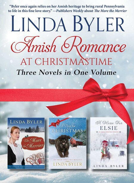 Amish Romance At Christmastime: Three Novels In One Volume by Linda Byler