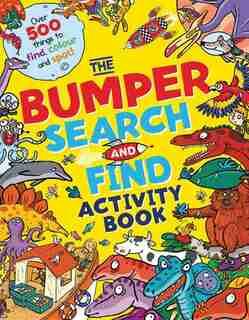 The Bumper Search & Find Activity Book by Joelle Dreidemy