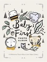 Baby's First Photo Album: A Milestone Photo Album