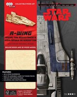 IncrediBuilds: Journey to Star Wars: The Last Jedi: A-wing Deluxe Book and Model Set: Inside the…
