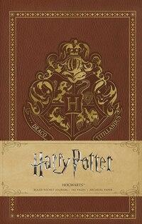 Harry Potter: Hogwarts Ruled Pocket Journal