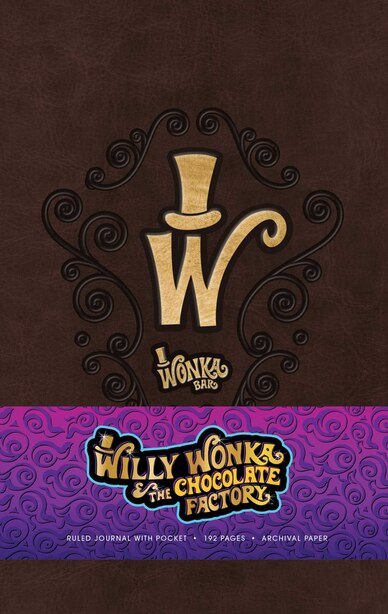 Willy Wonka Hardcover Ruled Journal by Insight Editions