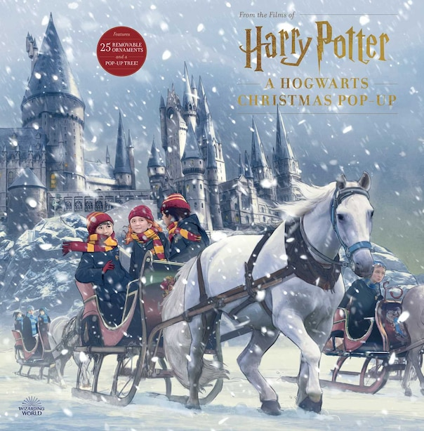 Harry Potter: A Hogwarts Christmas Pop-up (advent Calendar) by Insight Editions