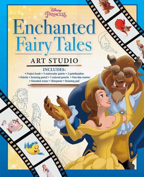 Disney Princess Enchanted Fairy Tales Art Studio by The Disney Storybook Artists