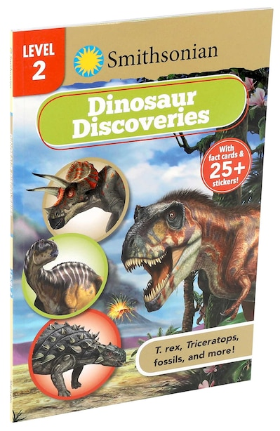 Smithsonian Reader Level 2: Dinosaur Discoveries by Courtney Acampora