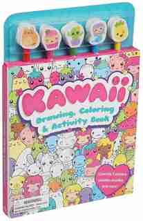 Kawaii Pencil Toppers by Editors Of Silver Dolphin Books