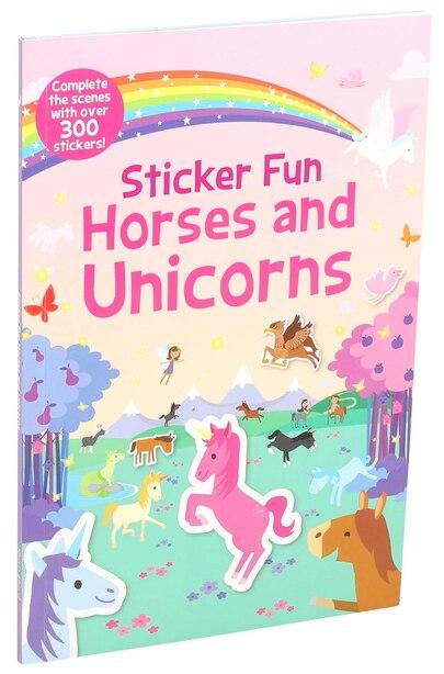 Sticker Fun Horses and Unicorns by Editors Of Silver Dolphin Books